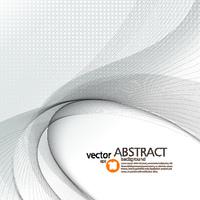 Abstract vector background, smooth waved lines for brochure, website, flyer design.  illustration eps10