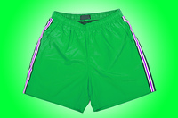 Male shorts isolated on the white background