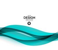 Abstract vector background, blue waved lines for brochure, website, flyer design.  illustration eps10