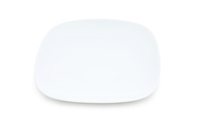 Plate isolated on the white background