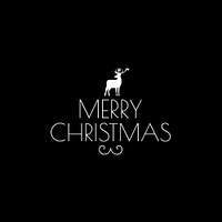 Christmas greeting card. Festive decor. Invitation. Vector illustration
