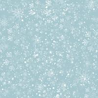 Christmas snowflakes seamless background. Vector illustration. Abstract Christmas snowflakes background. Seamless pattern