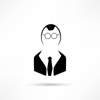 Manager vector icon.