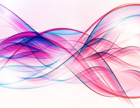 Abstract Colored Wave on  Background. Vector Illustration. EPS10. Abstract Colored Wave on  Background. Vector Illustration.