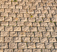 in south africa abstract pavement in the old steet and colors