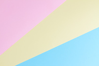 Color blocks paper background. Color blocks paper pink, yellow and blue background
