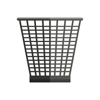 Trash basket vector in flat style. Plastic or metal container for waste, papers, and rubbish. Container for garbage for household, environmental concepts. Isolated on white background. Trash Basket Vector Illustration in Flat Style Design  Web. Trash Bask