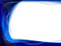Abstract blue and white background with flowing lines and plenty of copy room