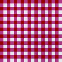 Red and white textured table cloth which will make ideal background