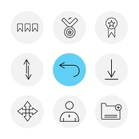 medal,  downlad,  folder, arrows,  directions,  avatar,  download,  upload,  apps,  user interface,  scale,  reset  message,  up,  down,  left,  right,  icon, vector, design,  flat,  collection, style, creative,  icons