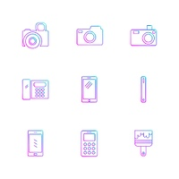 multimedia,  user interface,  camera,  technology,  play,  pause,  camcoder,  video,  click,  capture,  image,  photography,  photograph,  icon, vector, design,  flat,  collection, style, creative,  icons