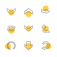reset,  up,  next,  arrows,  directions,  left,  right,  pointer,  download,  upload,  up,  down,  play,  pause,  foword,  rewind,  icon, vector, design,  flat,  collection, style, creative,  icons