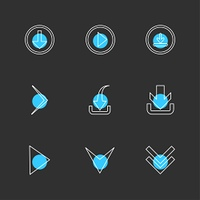 download,  play, download,  arrows,  directions,  left,  right,  pointer,  download,  upload,  up,  down,  play,  pause,  foword,  rewind,  icon, vector, design,  flat,  collection, style, creative,  icons