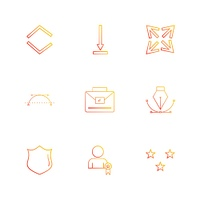 sheild,  nib,  breifcase,  arrows,  directions,  avatar,  download,  upload,  apps,  user interface,  scale,  reset  message,  up,  down,  left,  right,  icon, vector, design,  flat,  collection, style, creative,  icons