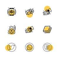 twitter,  whatsapp,  skype,  book,  Nexus,  nxs,  crypto,  currency,  crypto cuurency,  money,  exchange,  coin,  dollar,  graph,  icon, vector, design,  flat,  collection, style, creative,  icons