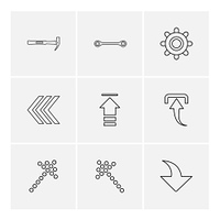 hammer,  upload,  back, download,  arrows,  directions,  left,  right,  pointer,  download,  upload,  up,  down,  play,  pause,  foword,  rewind,  icon, vector, design,  flat,  collection, style, creative,  icons