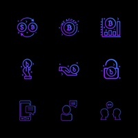 Bit coin,   crypto currency,  graph,  chart,  lock,  unlock,  mobile,  chat,  conversartion,  icon, vector, design,  flat,  collection, style, creative,  icons