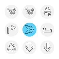 arrows,  directions,  pointer,  arrow,  user interface,  arrow,  reset ,  left,  right,  down,  up,  download,  upload,  icon, vector, design,  flat,  collection, style, creative,  icons