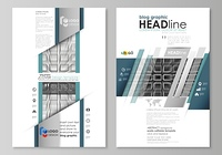 Blog graphic business templates. Page website design template, vector layout. Abstract infinity background, 3d structure with rectangles forming illusion of depth and perspective.. Blog graphic business templates. Page website design template, easy editab