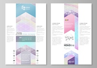 Blog graphic business templates. Page website design template, abstract vector layout. Hologram, background in pastel colors, holographic effect. Blurred colorful pattern, futuristic surreal texture.. Blog graphic business templates. Page website design t