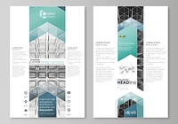 Blog graphic business templates. Page website design template, easy editable abstract vector layout. Abstract infinity background, 3d structure with rectangles forming illusion of depth and perspective.
