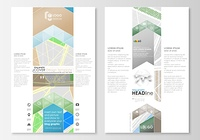 Blog graphic business templates. Page website, easy editable layout. City map with streets. Flat design template for tourism businesses, abstract vector illustration.. Blog graphic business templates. Page website design template, easy editable, abstract