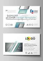 Business card templates. Easy editable layout, abstract vector design template. Geometric background, connected line and dots. Molecular structure. Scientific, medical, technology concept.. Business card templates. Easy editable layout, abstract vector de