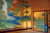 絢爛豪華な熊本城内の襖絵