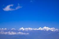 ナガルコット村よりヒマラヤ連峰