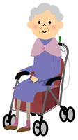 シニア おばあちゃん シルバーカー