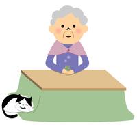 シニア おばあちゃん ティータイム