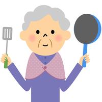 シニア おばあちゃん 料理