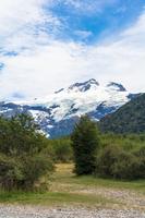 アンデス山脈のトロナドール山