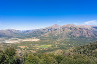 バリローチェのアンデスの山並み