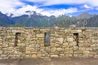 マチュピチュのインカ遺跡