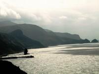 積丹半島の風景 神威岬