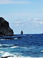 積丹半島の風景