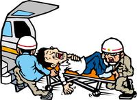 救急搬送の男性