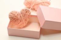 毛糸のハート