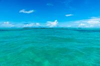 ジャーマン・チャネルのサンゴ礁の海