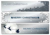 クリスマス バナーセット
