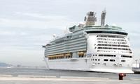 大型客船博多港着岸