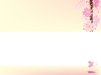 桜のタイトルバック