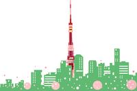 タワーの見える街