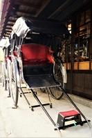 浅草の風景 人力車