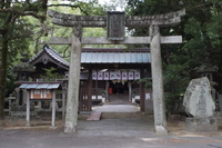 萩の町並み 春日神社