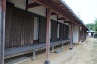 萩の町並み 旧武家屋敷長屋