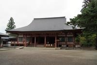 平泉の風景 毛越寺跡(本堂)