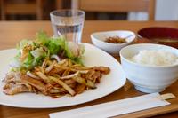 ショウガ焼き定食 生姜焼き 豚肉 定食