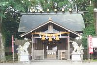 水戸の町並み 廉島神社
